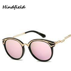 Hindfield Hot 2017 New Fashion Style Elegant Woman High Quality UV400 Fashion Colorful Polarized Sunglasses Driving P2561