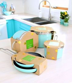 Kate Spade pots and pans from Fab.com