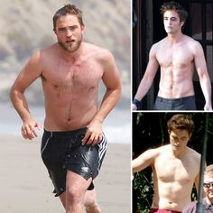 Robert Pattinson's Best Shirtless Moments