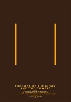 Modernist, Minimalist Movie Posters Based On A Simple Grid