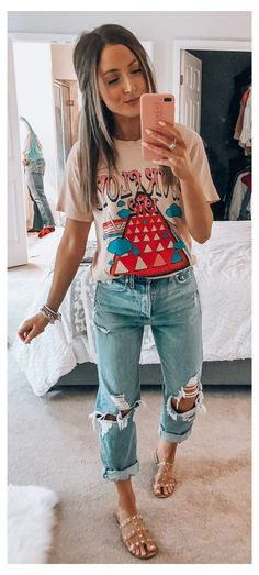 country summer outfits jeans