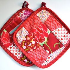 patchwork potholders