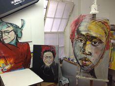 Paintings at Unit A. Paintings, Portrait, Drawings, Art, Art Background, Painting Art, Men Portrait, Painting, Kunst