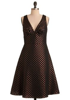 This is called the Penny for Your Dots Dress, which is appropriate, because I'll need to start saving up my pennies to buy it.