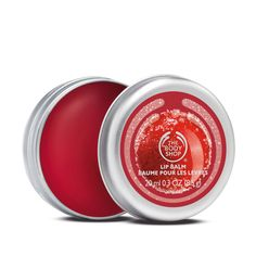 Make your mistletoe kisses the sweetest this year. This fruity-smelling lip balm comes in a handy tin to keep your lips soft and sweet all season. Contains top note cranberry seed oil from Canada, as nourishing and moisturizing treat for the skin.