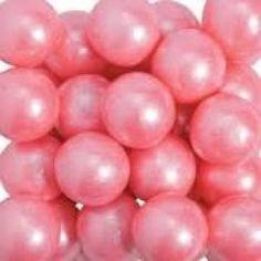 Pink Pearl Gumballs