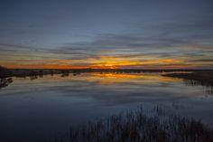 Intense Sunrise by Peter Cavaliere