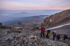 Russian BASE jumper was the first to jump from the roof of Africa - Kilimanjaro volcano - while wingsuiting. Kilimanjaro, Volcano, Climbing, Africa, Mountains, Pictures, Base, Travel, Photos