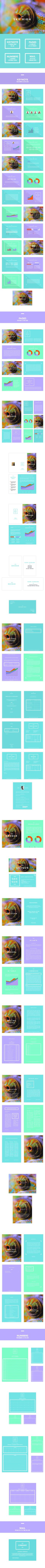 Sky High Keynote Template #design #slides Download: http://graphicriver.net/item/sky-high/12530064?ref=ksioks