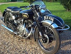 mercury as the hrd logo for vincent bikes | 1949 Vincent Hrd Series B Rapide ...