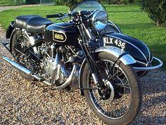 mercury as the hrd logo for vincent bikes | 1949 Vincent Hrd Series B Rapide ...