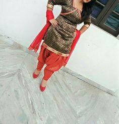 Adorable punjabi suit