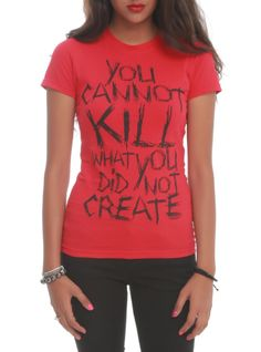 """Slipknot T-shirt with a design inspired by the track """"Duality."""""""