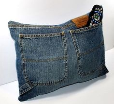 Idee davvero furbe per riciclare i jeans cuscino