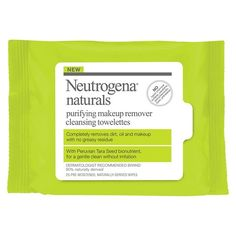 I'm a sucker for wipes, mainly because I'm lazy. I've never looked at them from an environment standpoint. I received these from Influenster, and found Neutrogena was working with The Nature Conservancy to save water!  #WipeForWater