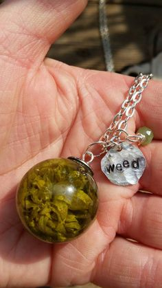 Check out this item in my Etsy shop https://www.etsy.com/listing/246379444/real-minnesota-weed-flower-sphere