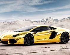 Lamborghini Aventador LP700 4   Project AU.79 Gold Custom Edition | Video