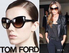 1097f83edd Tom Ford Bardot Sharp Cat Eye Sunglasses Sunglasses Shop