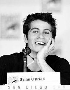 Dylan O'Brien at Comic Con