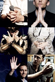 And even some more Hiddleston hands.