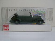 #transformer busch 41404 mercedes 170v cabriolet riot police task force, h0 car model 1:87
