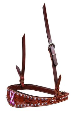 Excellent Quality - Affordable Prices Shop Bar H Equine Passionately Pink Noseband | Bar H Equine