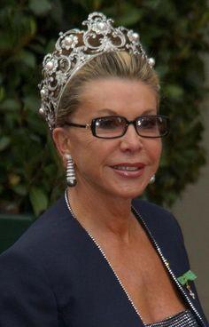 Queen Margherita's Musy Tiara ~ worn by Princess Marina of Savoy