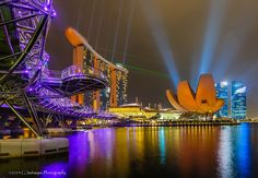 Marina Bay Sands Hotel & the Art Science Museum by Bert  on 500px