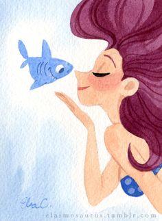 Elsa Chang Mermaid