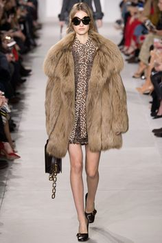 Michael Kors Collection Fall 2016 Ready-to-Wear Fashion Show - Maartje Verhoef