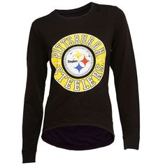 Pittsburgh Steelers Home Field Long Sleeve Crew Neck French Terry 0b9829540