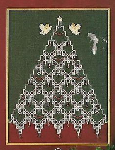 Oh Christmas Tree! Cross Stitch/hardanger Chart/emie Bishop/cross 'n Patch