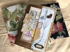 Book Journal, Journal Ideas, Junk Art, Art N Craft, Handmade Journals, Leather Cover, Fabric Covered, Needlework, Stationery