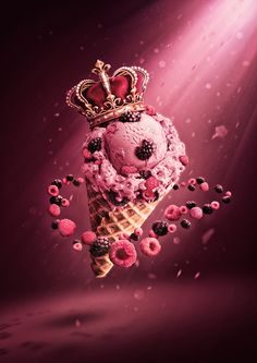 Royal Scoop by Featherwax , via Behance