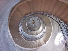 Spiral Staircase; Basilique de Fourviere; Lyon, France