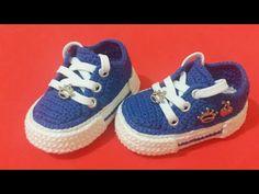 Crochet Baby Boots, Booties Crochet, Crochet Slippers, Baby Booties, Baby Shoes Pattern, Shoe Pattern, Baby Girl Shoes, Kid Shoes, Baby Schmuck