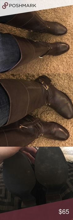 Banana Republic boots Worn a few times. Size 8.  please see my other items. This is a great addition to a bundle. I have lots of other great items, if you bundle save 10% and you only pay shipping once! Banana Republic Shoes