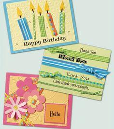 darling card ideas!