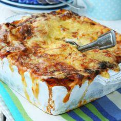 Vegetarisk lasagne - enkelt recept - Mitt kök