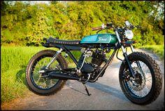Honda CB100 custom motorcycle from Deus Bali