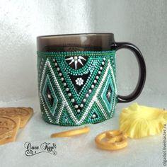 Кружка для чая. Чашка для кофе. Точечная роспись - кружка,кружка в подарок