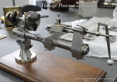 High precision watchmakers lathe made by Panerai in the last century