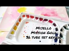 Product Review- Mijello Mission Gold 36 Tube Set - YouTube