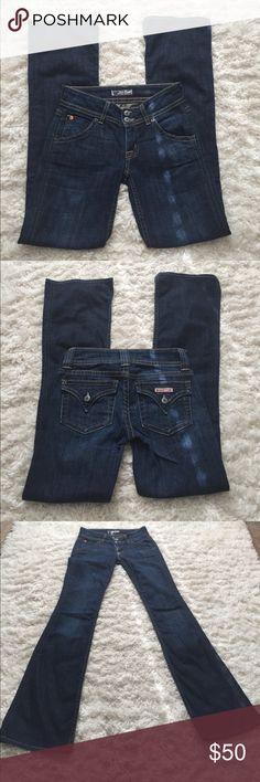 Hudson Dark Denim Jeans Hudson Dark Flare Jeans Hudson Jeans Jeans Flare & Wide Leg
