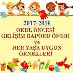 2017-2018 1. DÖNEM GELİŞİM RAPORU ÖRNEKLERİ