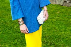 @TeggyFrench Wearing our Vintage Palm Beach Cuff! #teggyfrench #bloggerstyle #ootd #palmbeach #cuff #evocateurstyle
