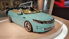 Kia Optima Convertible.