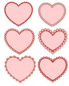 Free Printable Groovy Hearts Coloring Page for Valentines Day