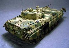 BMP-2E 1/35 Scale Model