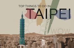 Taipei, the capital city of Taiwan, is an economically pioneering city, an East Asian transportation hub that offers its visitors everything you can imagine such as great museums, wonderful restaurants and incomparable shopping spots. WOW Travel invites you to check out its Top 9 Things To Do In Taipei.